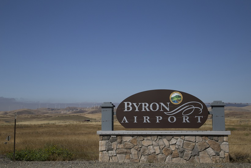 Byron Airport Entrance