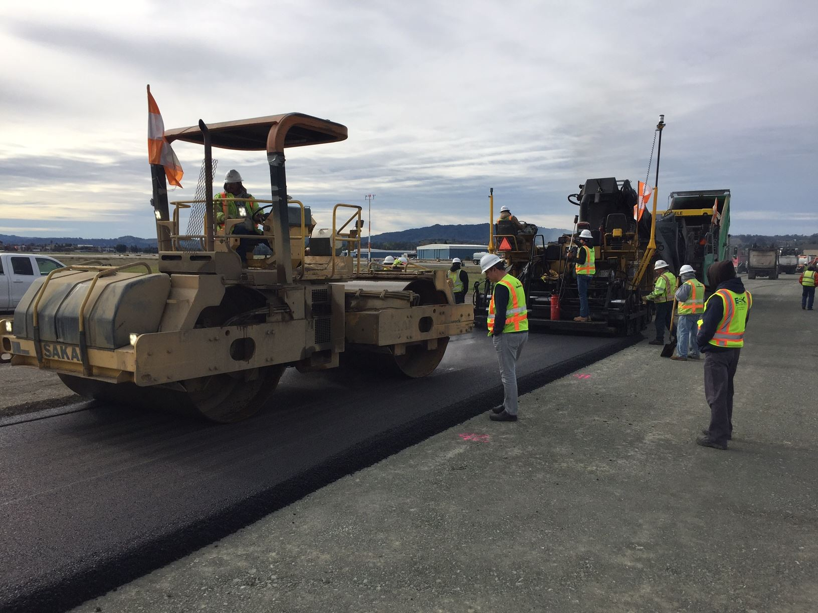 Taxiway Echo Pavement Reconstruction